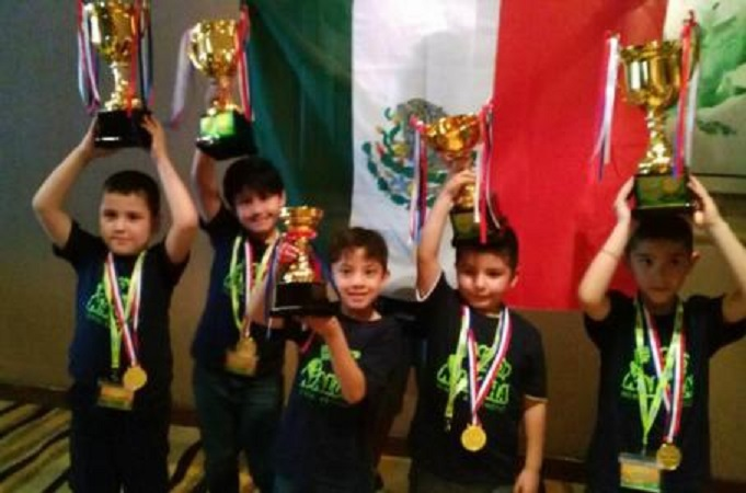 Niños mexicanos ganan campeonato mundial de Cálculo Mental