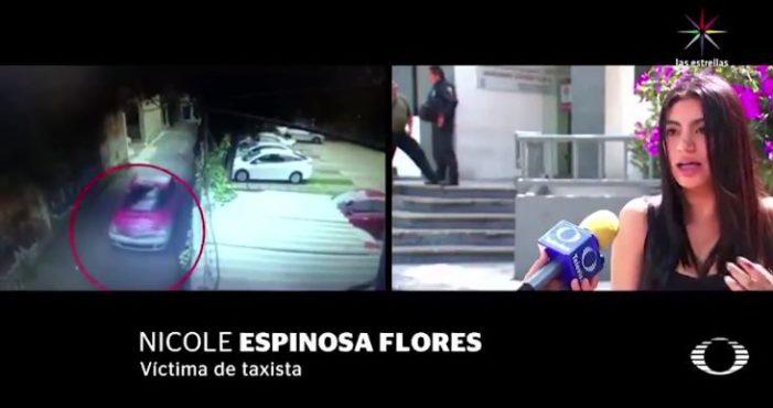 Taxista golpea y arrastra a mujer por reclamarle sobre acoso
