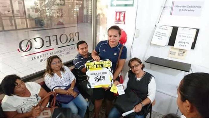 Por error tienda ofrece pantallas en 64.5 pesos, Profeco pide respetar precio