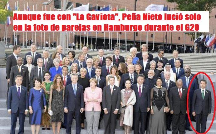 Angélica Rivera viajó con cargo al erario al G20 y no acompañó a Peña en los eventos