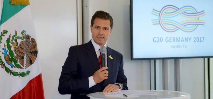 Peña Nieto respeta y confía en Trump: 'quien paga el muro no debe ocupar atención', dijo