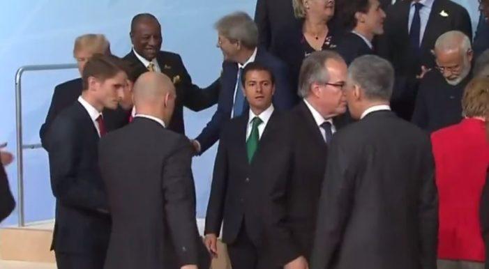Líderes del mundo en G20 ignoran a Peña Nieto (VIDEO)