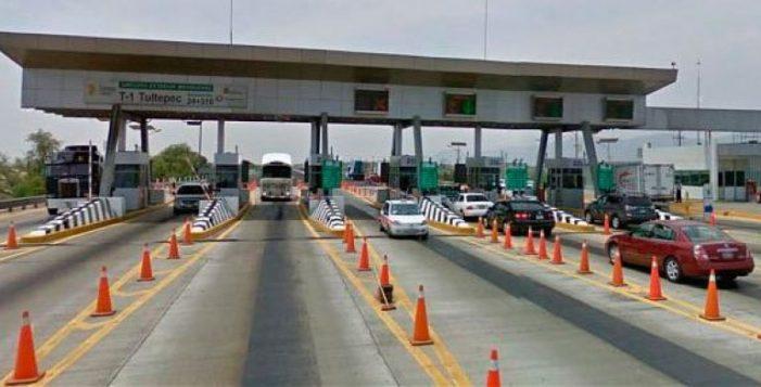 A partir de este jueves, aumentan 3.9% las tarifas carreteras