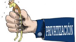 'Un gobierno privatizador y derechista'