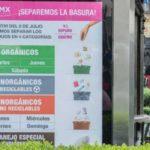 Nuevo reglamento para separar la basura en la CDMX