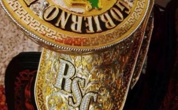 Gobernador de Nayarit tiene silla de montar de oro con incrustaciones de diamantes