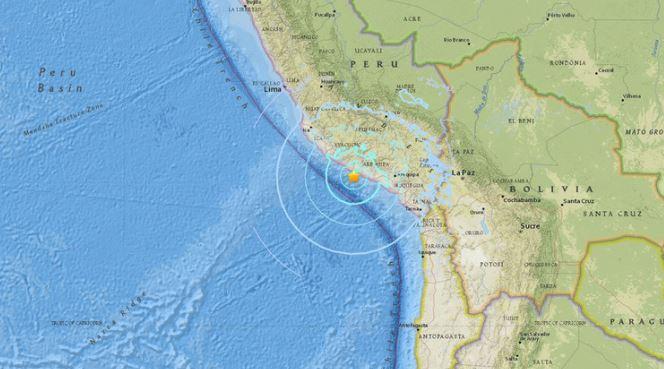 Golpea sismo de 6.3 a Perú