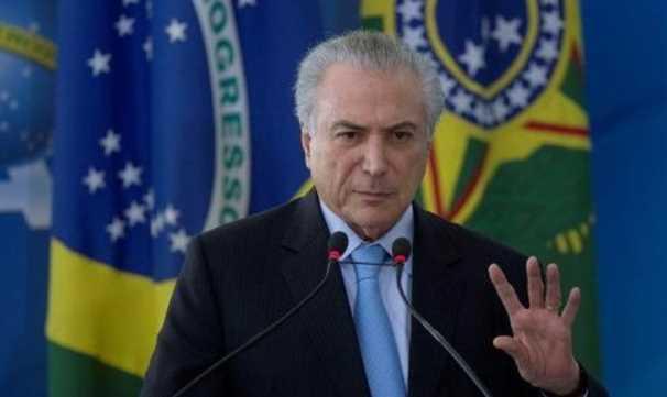 Popularidad de Temer se desploma al 5% en Brasil