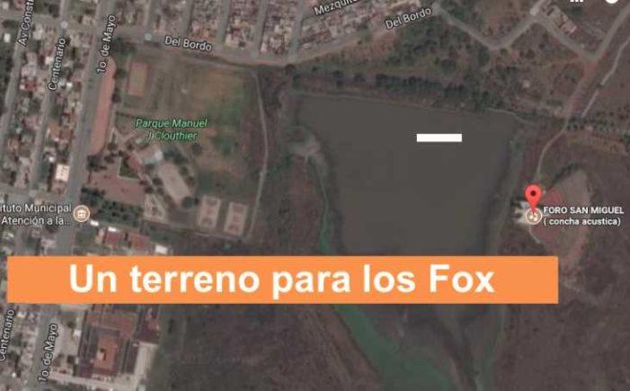 Ayuntamiento de San Miguel de Allende regaló terreno de zona protegida a Vicente Fox