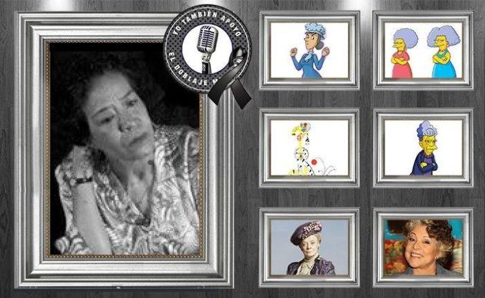 Falleció Erika Mireles, la voz de Salma y Patty en la serie Los Simpson