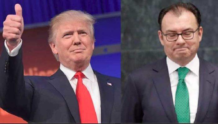 'No escuché comentario de Trump respecto al muro': Videgaray