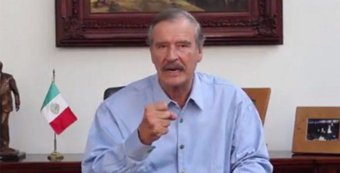 Vicente Fox critica viaje de AMLO a sudamérica, 'no mereces México', dijo