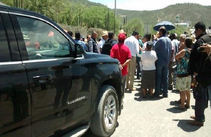 Corren a EPN de localidad en Puebla donde grabaría un spot
