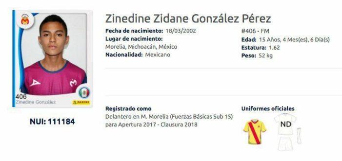 Conoce al 'Zinedine Zidane' mexicano
