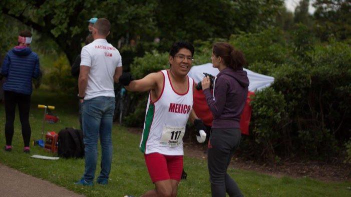 Estudiante de la UNAM rompe récord en ultradistancia en campeonato mundial