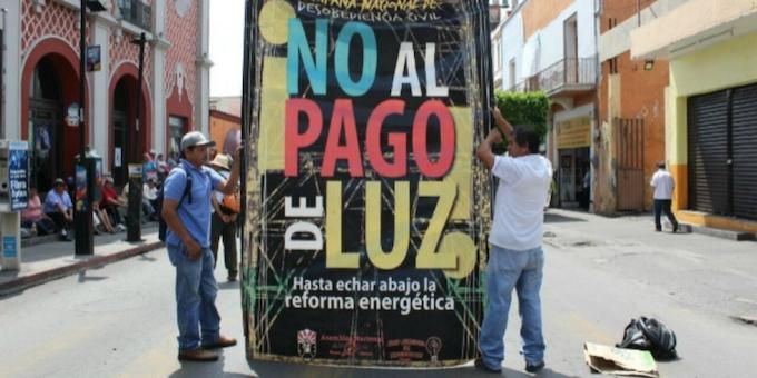 Reprimen a usuarios de electricidad en el Estado de México