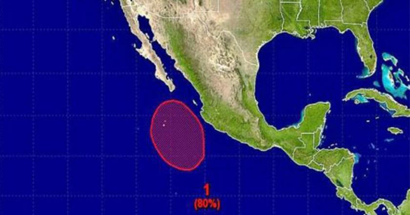 Declaran alerta roja en Sinaloa por cercanía de tormenta tropical 'Lidia'