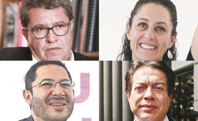 Aspirantes de Morena a la CDMX se reúnen para anunciar resultado de encuesta