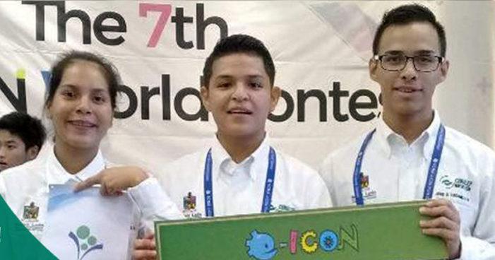 Estudiantes del Conalep ganan 3er lugar en concurso internacional de aplicaciones