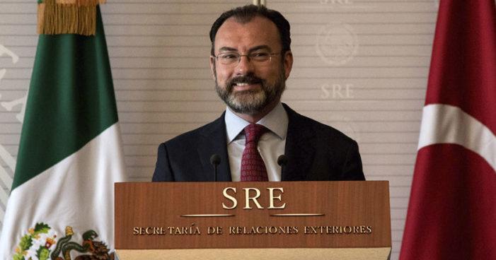 Se va Videgaray de negociaciones tras anuncio de elecciones en Venezuela