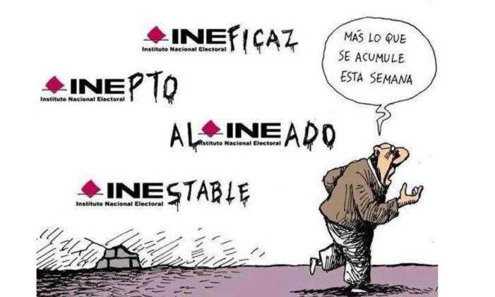 'Las Golondrinas al INE'