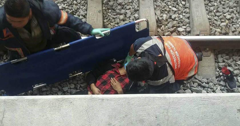 Más de 10 mil usuarios del Metro son afectados por inundaciones
