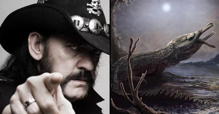 Científicos nombran a cocodrilo del jurásico en honor a Lemmy de Motörhead