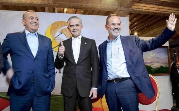 Mancera, Beltrones y Madero coinciden en unirse para un 'gobierno de coalición'
