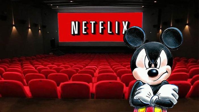 Disney rompe relaciones con Netflix, lanzará su propia plataforma