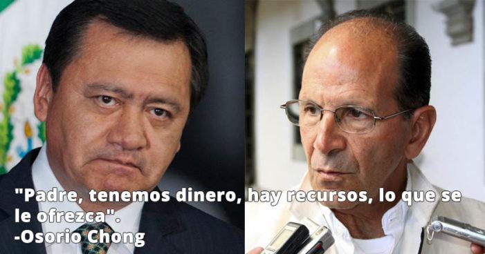 'Osorio Chong me ofreció dinero, yo lo rechacé': Solalinde
