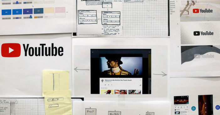 YouTube cambia su interfaz y, por primera vez, su logotipo