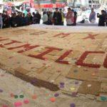 Enorme Alegría de 34 metros rompió récord en Revolución