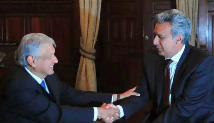 Lenín Moreno copia a AMLO; vende avión presidencial y baja sueldo a altos funcionarios