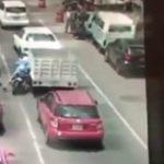Asaltantes son baleados al intentar asaltar a conductor, uno muere (VIDEO)