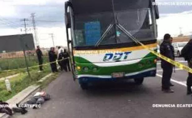 Asesinan a pasajero que intentó enfrentar a ladrones en la México-Pachuca