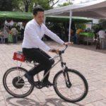 Mexicanos crean bicicleta eléctrica que alcanza 40 km por hora