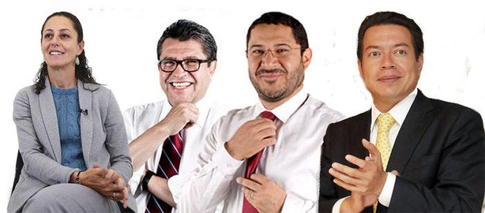 Morena revela encuesta que ganó Sheinbaum en la Ciudad de México