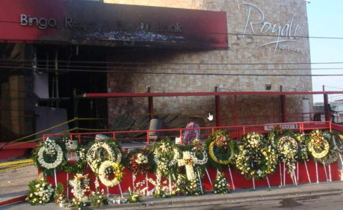 Después de 6 años, CNDH y CEAV convocan a víctimas del Casino Royale