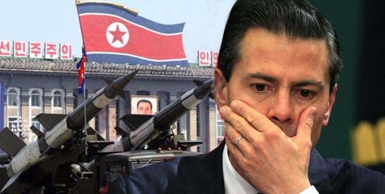 Vicepresidente de EU pide a México romper lazos con Corea del Norte
