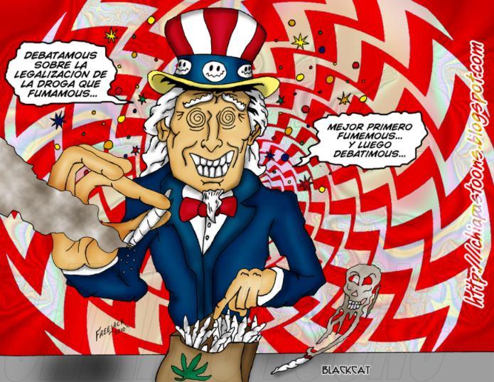 'Carnicería americana': EU consumido por las drogas