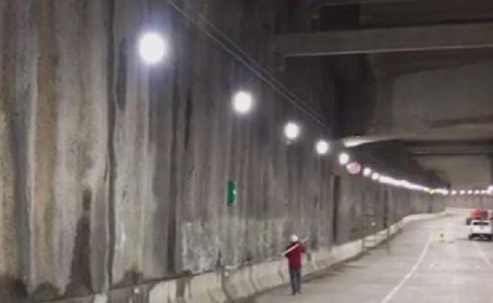 Encuentran filtraciones en el túnel de Mixcoac… que todavía no se inaugura