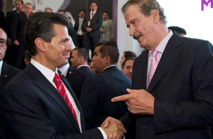 Fox acepta que acordó con Peña Nieto y traicionó a Vázquez Mota en 2012
