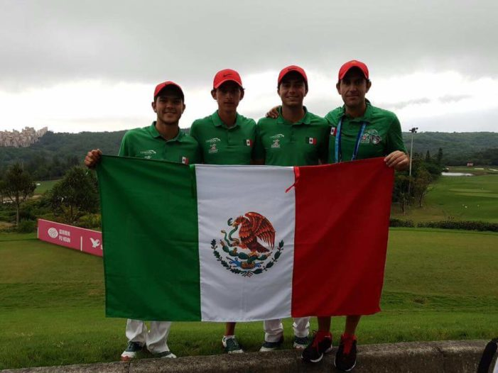 El golfista Raúl Pereda gana otro oro para México en Universiada de Taipei
