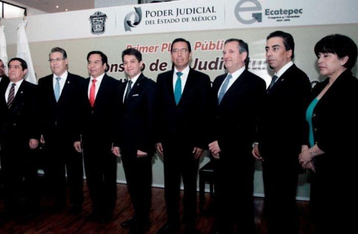 Jueces y magistrados de Edomex buscan ocultar los altos ingresos que perciben