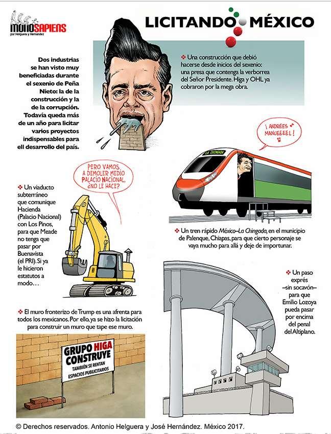 Licitando México (Cartón)