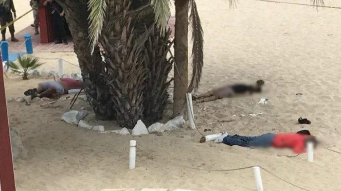 Violencia en playas altera a vacacionistas, deja un saldo de 6 muertos