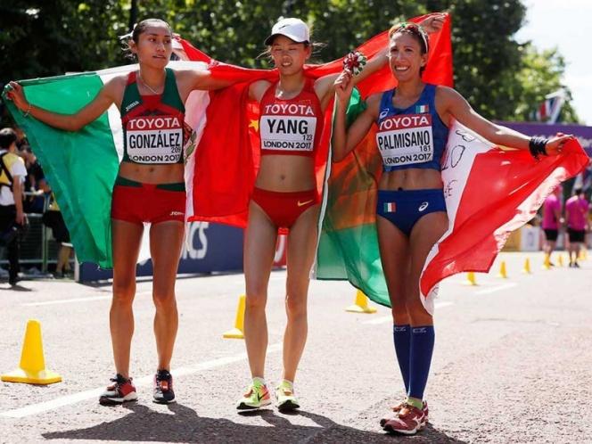 Lupita González gana plata en Mundial de Atletismo en Londres
