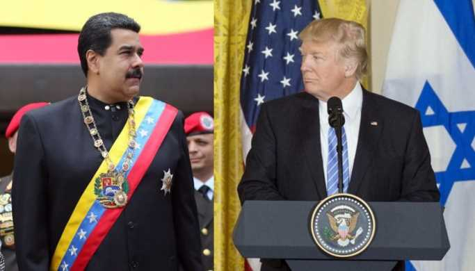 Donald Trump no descarta intervenir militarmente en Venezuela