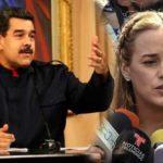 Maduro dice que medios internacionales callan sobre escándalo de la esposa de Leopoldo López