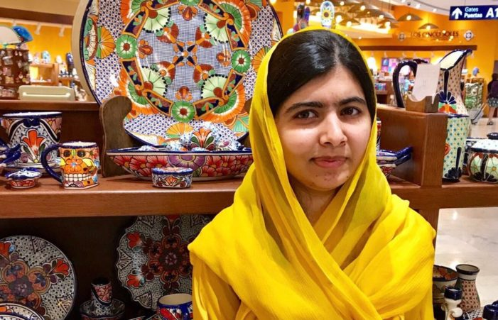 Malala pide más dinero para educación que para campañas políticas